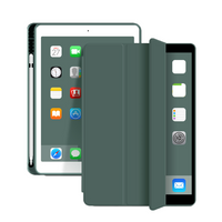 Estuche para lápices Trifold Smart Ultra Slim de cuero PU para iPad Pro 10.5 / Air 3 10.5