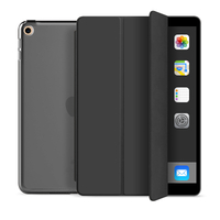 Estuche triple para PC con reposo automático y despertador Smart Case para ipad mini 4