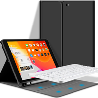 Funda colorida con teclado inalámbrico Bluetooth para iPad Pro 11 2020